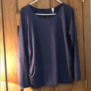 Lucy shirted side athletic top sz xl